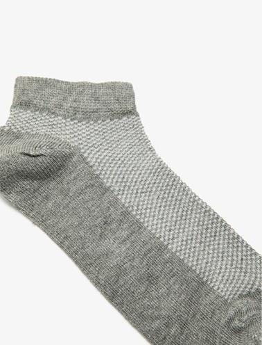 Koton Kids 4'Lü Erkek Çocuk Çorap Gri